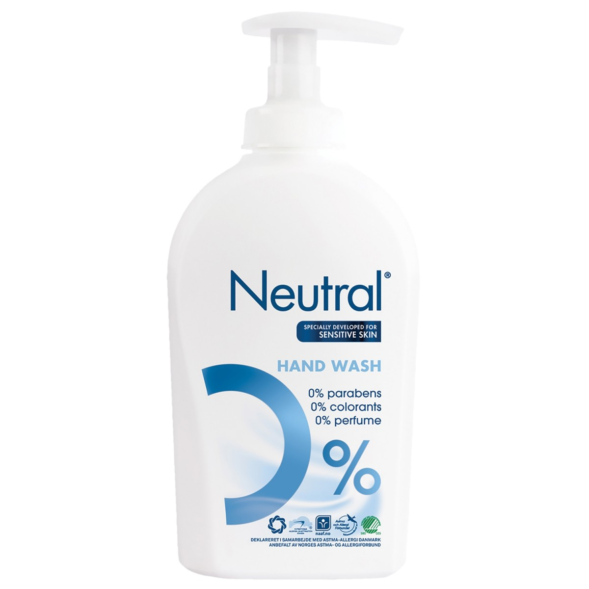 Cremesæbe Neutral Handwash med pumpe 250 ml.-31